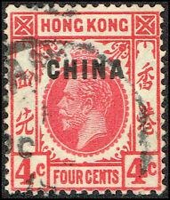Scott # 3 - 1917 - ' King George V ', Ovptd. CHINA