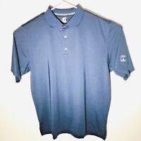 Footjoy Golf Shirt XL Troon Cup FJ Navy Blue Polo Men's
