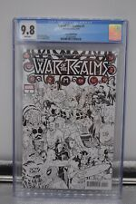 War Of The Realms #1 CGC 9.8 Conner Sketch Cover Retailer Incentive Marvel Thor