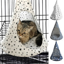 Pet Fun House Hanging Hammock Cat Bed Foldable lightweight Puppy Cat hanging bed