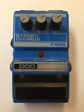 DOD Digitech FX65 Stereo Analog Chorus Rare Vintage Guitar Effect Pedal