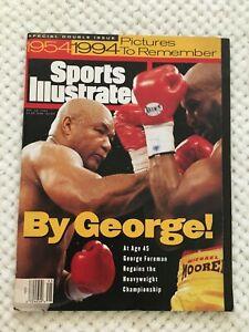 FM10-40 Sports Illustrated Magazine November 14 1994 GEORGE FOREMAN BOXING