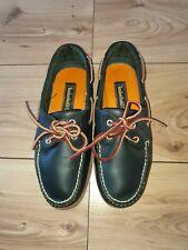 Timberland Deck Shoes Dark Blue Size UK 7W