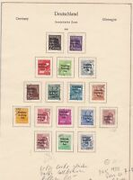 germany 1948 soviet zone stamps page cat 200 ref 18725