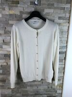 Guess Ladies Size XL Made In Italy Wool Cashmere Cardigan