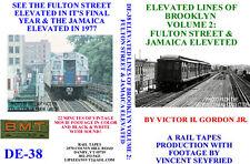 Dvd: Vintage Subway Ny Fulton St & Jamaica El Brooklyn