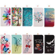 Petals Butterfly ID Wallet Flip Case Cover For Samsung Galaxy J1 (2016) SM-J120F