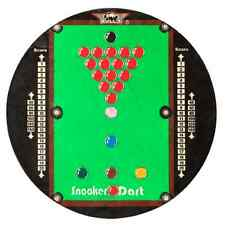 BULLS SNOOKER TABLE BALLS DARTBOARD Steel Tip Bristle Dart Board Fun Practise