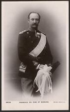 Denmark Royalty. Frederick VIII, King of Denmark - RP Postcard