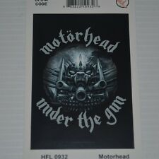 MOTORHEAD - UNDER THE GUN - FLAG / TEXTILE POSTER