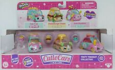 Shopkins Cutie Cars Tasty Takeout Collection 3-Pack & Mini Figures Playset