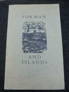 For Man and Islands: Poems, Robin Abbs - 1978 Tern Press paperback - illustrated