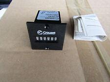 Crouzet 6 Digit, Mechanical Counter, 230Vac - Panel Mount - H7 7263075