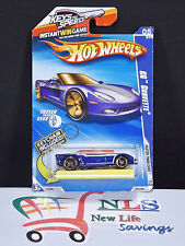 2009 Hot wheels 2009 C6 Corvette Convertible (1:64 Scale) Key Chain INCLUDED
