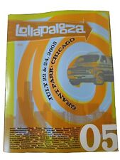Lollapalooza 2005 Official 72 page Festival Program NEW  Chicago Grant Park 05