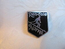 Rendale Norvyk Vintage Lapel Hat Pin Ski Resort Snow Sports SKI026