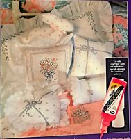 Bouquets & Bows TULIP ColorPoint Paint Stitching Leaflet 91207 Transfer Pattern