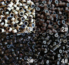 4.5mm SILICONE MICRO BEADS/RINGS FOR HAIR EXTENSIONS 4 COLOR TO CHOOSE