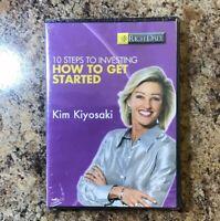 Kim Kiyosaki Rich Dad-10 Steps to Investing  Audio CD New Sealed