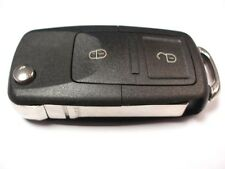 Replacement 2 button flip key case for VW Volkswagen Golf mk4 Bora T5 remote fob