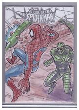 2017 Fleer Ultra Spider-Man JAKE SUMBING 1/1 Original ARTIST SKETCH ART CARD