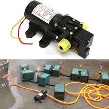 12V 60W Long Distance Diaphragm High Pressure Water Self Priming Pump 5L/min DC