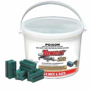 Tomcat All Weather Blox 784g Rat & Mouse Bait Poison Rodent Killer Rodenticide
