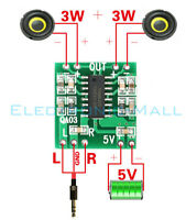 PAM8403 2x3W Mini Digital Power Amplifier Board for Class D Stereo Audio System