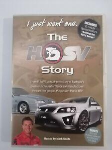 I just want one. The HSV Story. Mark Skaife. DVD - Region 4