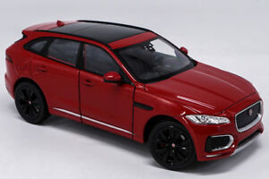 Welly 1:24 Jaguar F-Pace Diecast Model Sports Racing Car Toy Red NEW IN BOX