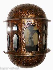 Orient Wandlampe 1001-Nacht lampe mit rückwandspiegel E