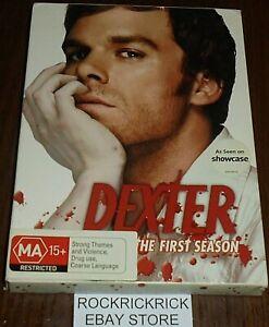 DEXTER SEASON 1 DVD (4 DISC SET) REGION 4