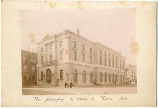 France, Valence, vue générale sur le théâtre  Vintage albumen print Tirage alb