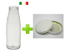 Confezione da 40 bottiglie vasetti per passate da 720 ml comprensive di tappi