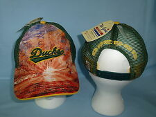 OREGON DUCKS Brilliant Mesh Snapback CAP/HAT One Size Fits All NWT $25 retail