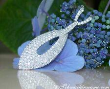 Echtschmuck-Halsketten & -Anhänger im Collier-Stil mit VS Reinheit für Damen