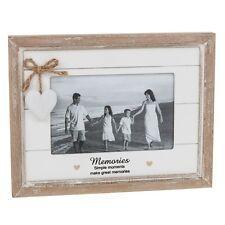 MEMORIES Photo Picture Frame Gift Present Heart Shabby Chic Keepsake Family
