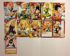 Dragon Ball Miracle Battle Carddass Promo Set JS02 11/11