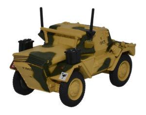 Oxford 1/76 Dingo Scout Car 50th RTR 23rd Armoured Brigade Tunisia DSC001