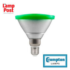 Crompton LED PAR38 13 Watt GREEN 240 Volt E27 Screw Cap Flood PAR 38