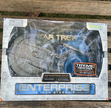 STAR TREK ENTERPRISE NX-01 Art Asylum 12 Inch Starship Sound and Lights NEW