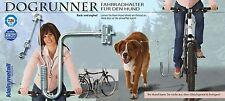 Fahrradhalter für den Hund DOGRUNNER Kleinmetall NEU - mit Freude Rad fahren
