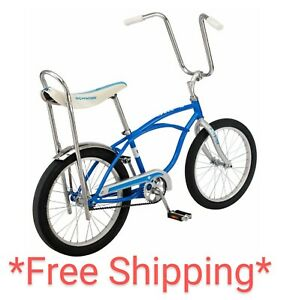 "20"" Schwinn Sting-Ray Bicycle Lowrider, Banana Seat Bike, , Blue NIB"