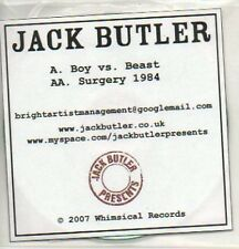 (916K) Jack Butler, Boy vs Beast - DJ CD