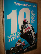 DVD N°2 MOTOMONDIALE STORY OFFICIAL COLLECTION MOTO GP 10 PERLE PER 10 CAMPIONI
