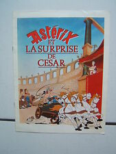 UDERZO / ASTERIX /  SYNOPSIS DU FILM ET LA SURPRISE DE CESAR /  8 PAGES 1985
