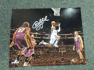 CHRIS PAUL CLIPPERS SIGNED  'LAYUP AGAINST LAKERS' 8X10 PHOTO STEINER