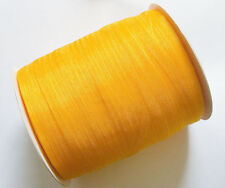 15 Meters Organza Ribbon - Orange - 7mm