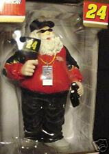 "NASCAR #24 Jeff Gordon*8"" SANTA Christmas Figurine STATUE*Fast Ship*Collectible*"