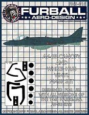1/48 Furball AV-8B Harrier II Vinyl Mask Set for the Hasegawa Kit